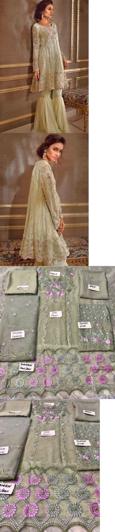 Salwar Kameez 155249: Pakistani Designer Maria B Zainub Chottani Asim Jofa Inspire Kameez Eid -> BUY IT NOW ONLY: $104.99 on eBay!