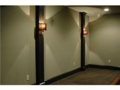 Basement walls/lighting