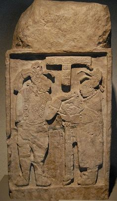 One of the famous lintels (#26) from the ancient Maya site of Yaxchilan in Chiapas Mexico. Museum of anthropology Mexico City. by Ilhuicamina on Flickr