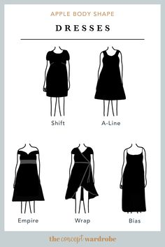 In this section, we explore how to dress the apple body shape to achieve a balanced silhouette. Make sure to check all body shapes that apply to you. Apple Body Shape Outfits, Apple Shape Fashion, Dresses For Apple Shape, Dress Apple Shape, Apple Body Shape Clothes, Apple Body Fashion, Pear Shaped Outfits, Apple Body Type, Apple Body Shapes