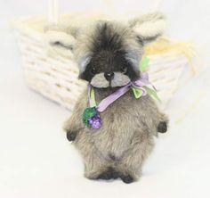 Raccoon Tinky by Oksana Timchenko