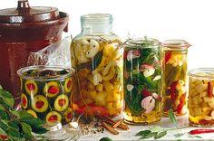 Nakládané žampiony v soli Chinese Five Spice Powder, Homesteading, Grid, Mason Jars, Spices, Survival, Canning, Vegetables, Garden