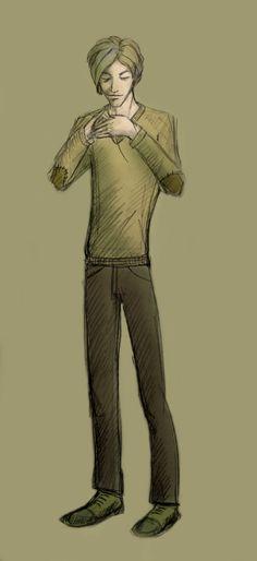 Professor Lupin by AxelZero