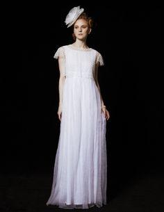 SILK ORGANDIE PLEATS DRESS | THE SURREY