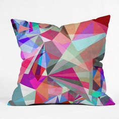 Mareike Boehmer Colorflash 5XY Throw Pillow | DENY Designs Home Accessories