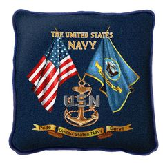 The United States Navy Pride Service Pillow