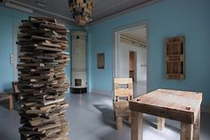 """""""After oil furniture development company""""    #woodwork #norwegianartist #norwegianart #norwegianwoodwork #erlendleirdal #art #norwegian Wooden Art, Furniture, Mirror, Instagram, Home Decor, Wood Art, Decoration Home, Room Decor, Mirrors"""