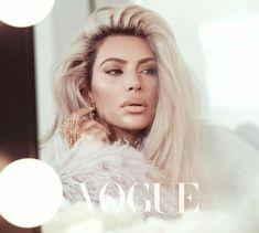 Kim Kardashain for Vogue Taiwan.
