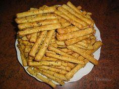 Česnekovo-sýrové tyčinky Czech Recipes, Finger Foods, Pizza, Carrots, Waffles, Food And Drink, Appetizers, Snacks, Vegetables