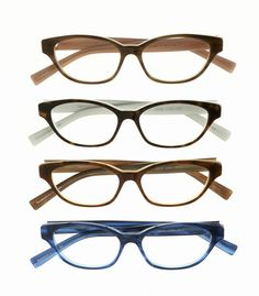 """4 new colors for the """"Julie Jubelirer"""" by Norman Childs Eyewear! #womens #glasses"""