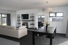 Mike Greer Homes have been building award-winning homes for over 25 years and are New Zealand's largest home building company. Building Companies, Large Homes, Building A House, Awards, Living Room, Gallery, Table, Furniture, Home Decor