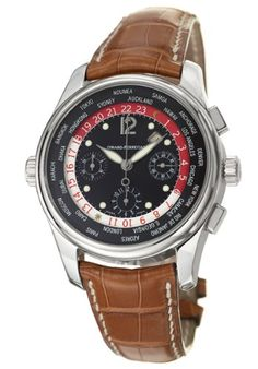 Girard-Perregaux Worldtimer WW.TC Chronograph Mens Watch 49800-53-651-BA6A: Watches: www.girardperregauxwatches.com