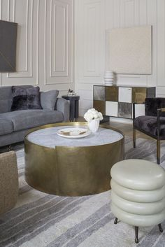 gorgeous 20 Stylish Center Table Designs to Modernize Your Living Room