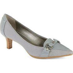 Circa Joan & David Prvue Embellished Fabric Pumps: The perfect grey shoe!