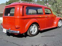 Volkswagen bus and beetle combined Vw Bus, Bus Camper, Custom Vw Bug, Vw Wagon, Combi Wv, Volkswagen Type 3, Vw Pickup, Unique Cars, Minivan