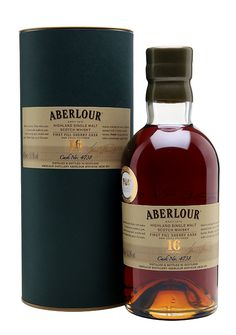 @whiskyexchange exclusive aberlour 16 year old single cask first fill sherry #Whisky