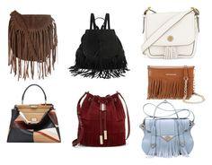 Senza titolo #17 by angiel-i on Polyvore featuring moda, Fendi, Ella Rabener, Tory Burch, Vince Camuto, Glamorous and Rebecca Minkoff
