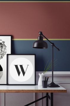 Striped wallpaper done classy. This design balances muted tones with a playful composition of stripes, ideal for home office spaces and living room settings. Combine with a striking print or two to give real definition in your home.