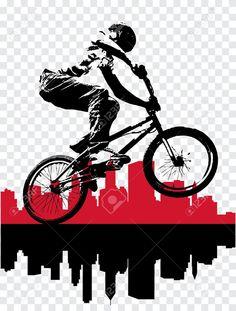 bicicross bmx vectores - Buscar con Google