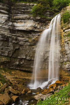 Cascade Du Herrison, Doucier, Jura, France