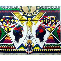 "Criola | Alexandre Keto in Rua Timbiras   》♢《 ORÍ II - "" A raiz negra que sustenta é a mesma que floresce. "" . #representatividadeimporta #graffiti #graff #blackwoman #art #vscoart #vscom #vscocam #brazil"