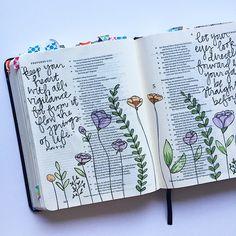 Bible Journaling by Bumble & Bristle Art Journaling, Bible Study Journal, Scripture Journal, Book Journal, Bullet Journal, Bible Drawing, Bible Doodling, Bible Prayers, Bible Scriptures