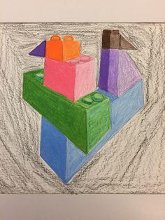 Studio Art, Art Studios, Motifs, Colored Pencils, Coasters, Lego, Colouring Pencils, Coaster, Legos