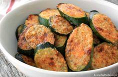 Parmesan zucchini bites recipe