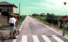 Lamborghini: Route