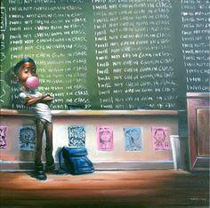 ☆ Social Studies :¦: By Artist Frank Morrison ☆ FROM FRANK MORRISON'S CUTEST KIDZ COLLECTION.