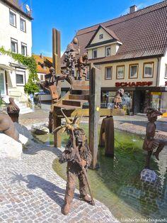 ... Grande fontana con personaggi ... Weil der Stadt (D) - 18/09/2014 - © Umberto Garbagnati -