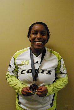 Kiona Mercer-Tremblay  Forward (Women's Soccer) Athletics, Soccer, Pictures, Jackets, Fashion, Photos, Down Jackets, Moda, Futbol