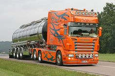 Drivers in Europe take just as much Pride in their rigs as we do in the US.