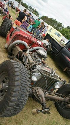 Rat Rod of the Day! - Page 44 - Undead Sleds / Rat Rods Rule - Hot Rods, Rat Rods, Sleepers, Beaters & Bikes. Rat Rods, Jeep Rat Rod, Rat Rod Cars, Jeep Cj, Wrangler Jeep, Cool Trucks, Cool Cars, Off Road, Ford