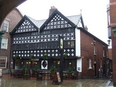 The Barley Mow Pub, Warrington, England.  The pub was built in 1561 and has all the character you would expect from a pub so old.  We are situated in the old market place in the middle of Golden Square.