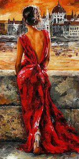 Frameless oil painting by numbers paint by number for home decor canvas painting 4050 in red dress Woman Painting, Diy Painting, Painting Canvas, Dress Painting, Canvas Art, Canvas Prints, Diy Canvas, Framed Prints, Photocollage
