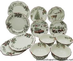 Better Homes And Garden Christmas Dinnerware