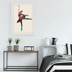 Ballerina Wall Art Printable,Colorful Ballet Dancer Artwork,Ballet Gifts Ideas.Enter a promo code - LOVE40 - when you check out and get -40% discount . #ballerinaartprint #artwork #baleletdancergiftifeas #printathome #modernwalldecor #mitkoperoskiphotography #infiniteartshop #digitaldownload #largeprint #24x36inches #60x90cm #livingroomdecor #officedecorideas # Modern Wall Decor, Wall Art Decor, Wall Art Prints, Infinite Art, Ballet Dancers, Large Prints, Printable Wall Art, Office Decor, Living Room Decor