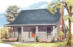 Cottage Home Plan with Many Options - 51020MM | 1st Floor Master Suite, CAD Available, Cottage, Country, PDF, Tiny House, USDA Approved | Architectural Designs