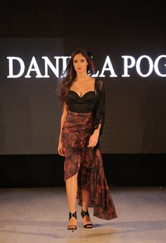 Skirt Flamenco Agua na Boca Collection by Daniela Poggi #flamenco #fashionshow #danielapoggi