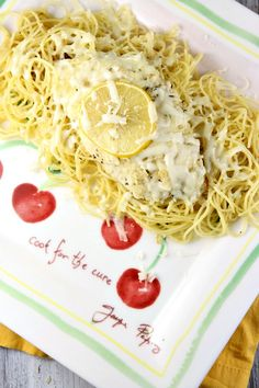 Lemon Chicken Parmesan