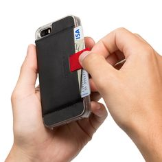 Wally iPhone Case with Pull-Tab Wallet