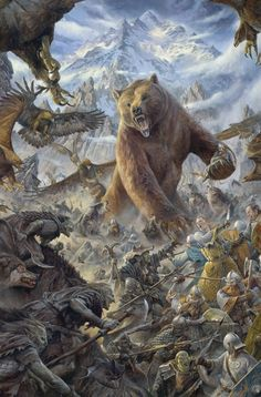 The Battle under the Mountain.