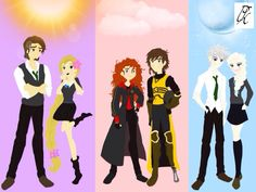 Hogwarts AU 1 by Psycho-Knight.deviantart.com on @deviantART this is how it should beeee!!!