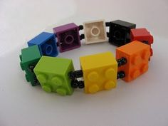 Ok, I might wear coloured Lego as an accessory...maybe.