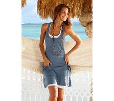 Plážové šaty Beachtime | vyprodej-slevy.cz #vyprodejslevy #vyprodejslecycz #vyprodejslevy_cz #beachtime #fashion #moda #saty Cover Up, Beach, Dresses, Fashion, Gowns, Moda, The Beach, La Mode, Dress