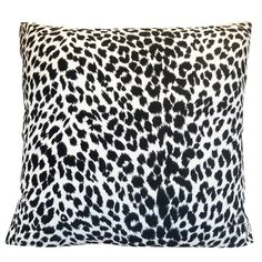 Down-like fill. Animal Print Bedroom, Animal Print Furniture, Animal Print Decor, Animal Prints, Leopard Bedroom Decor, White Bedroom, Leopard Print Bedroom, Leopard Pillow, Zebra Print