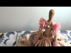 Tilda Doll Start to Finish Part 7 - Done! Doll Making Tutorials, Making Ideas, Doll Crafts, Diy Doll, Sewing Hacks, Sewing Projects, Doll Painting, Erin Condren Life Planner, Soft Dolls