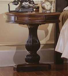 Hooker Preston Ridge Pedestal Nightstand HO-864-90-015 $704.40
