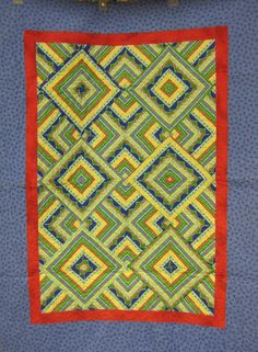 """""""One for the Money"""" quilt at I Quilt For Fun.  Pattern by Grizzly Gulch Gallery."""